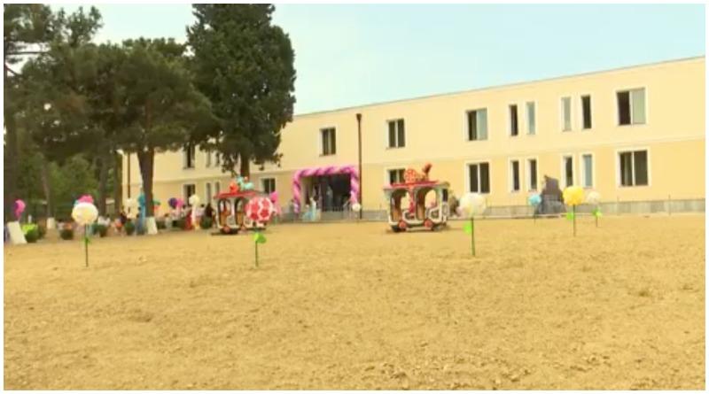 რუსთავში ახლადაშენებული #10 საბავშვო ბაღი გაიხსნა