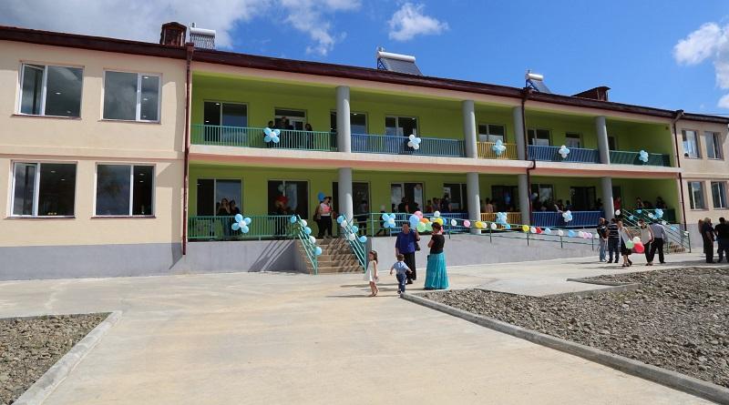ხობის სოფელ ხეთაში 150 აღსაზრდელზე გათვლილისაბავშვო ბაღი გაიხსნა